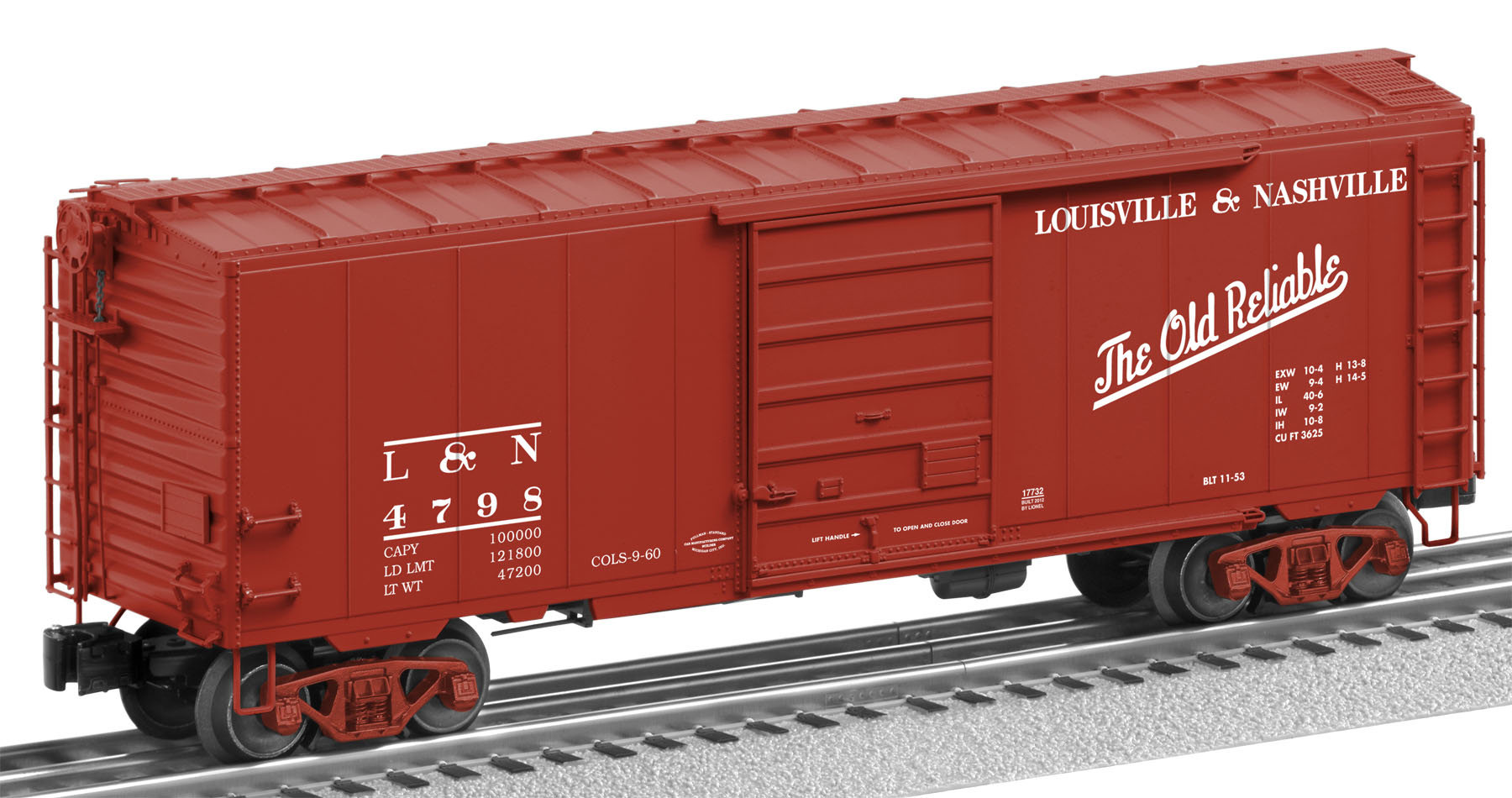 Freight car friday boxcars lionel trains for 4 box auto in tandem