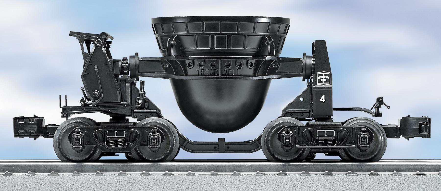 Steel mills lionel trains for Atlas car aluminium