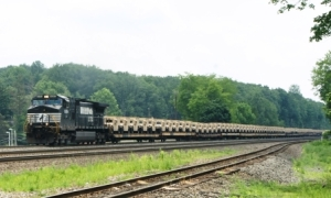 modern military train