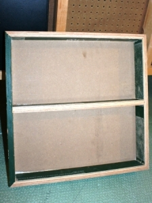 completed frame