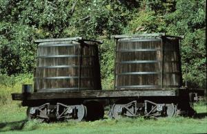 Early freight car
