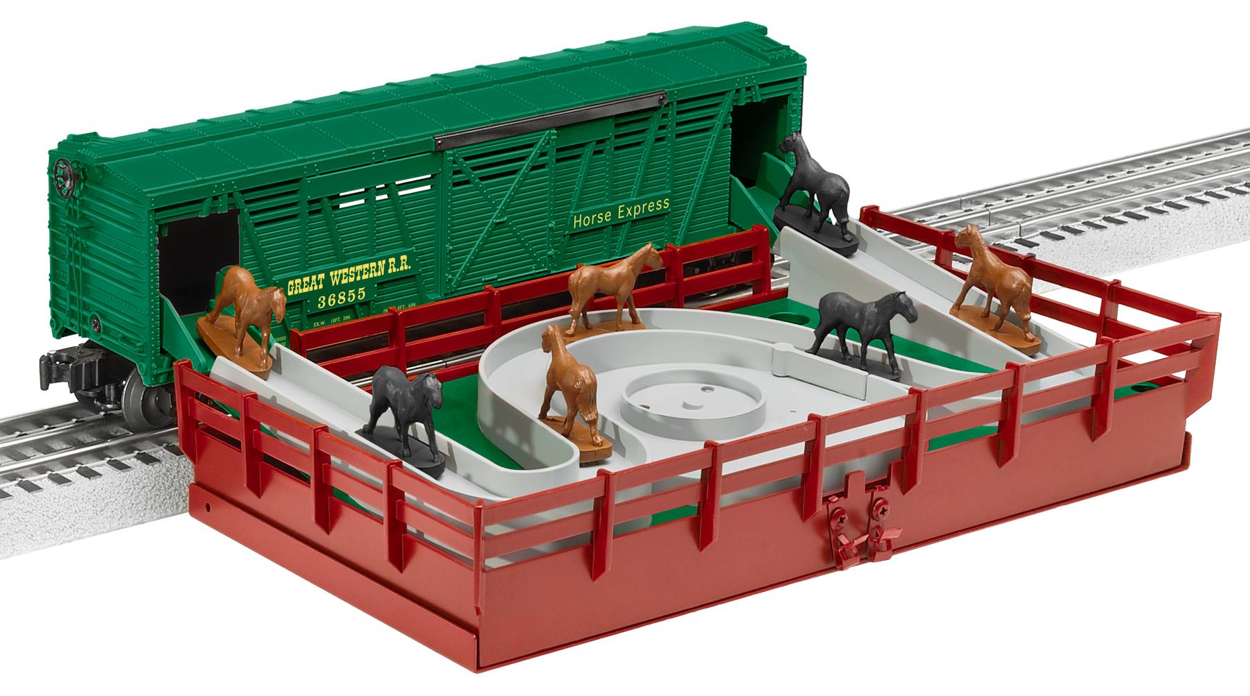 Wiring Diagram Lionel Cattle Car : Turntable lionel trains