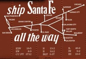Santa Fe map