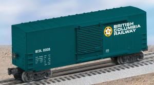 BC Rail high cube