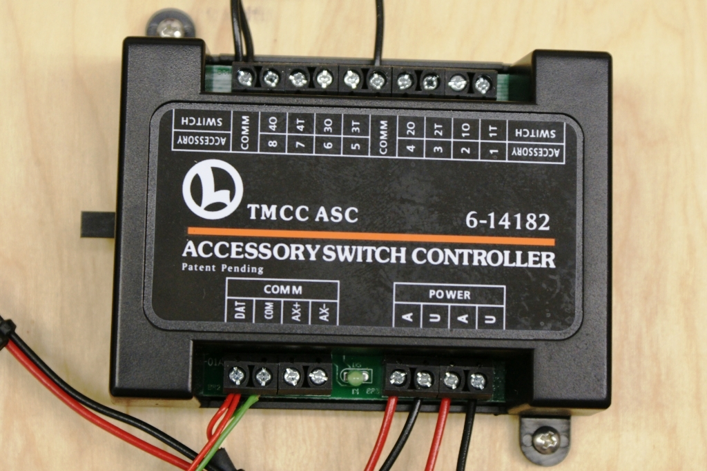 wiring your layout lionel trains asc accessory switch controller the asc will handle twin coil machines but also motors here you ll wiring instructions for using the asc on