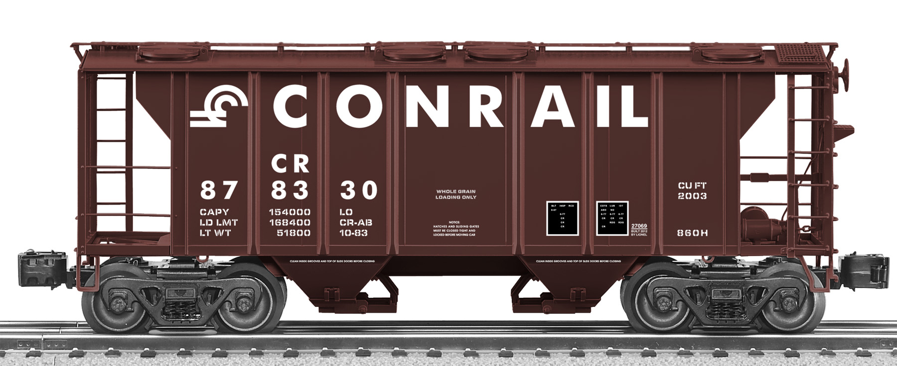 Freight Car Friday Cement Service Lionel Trains