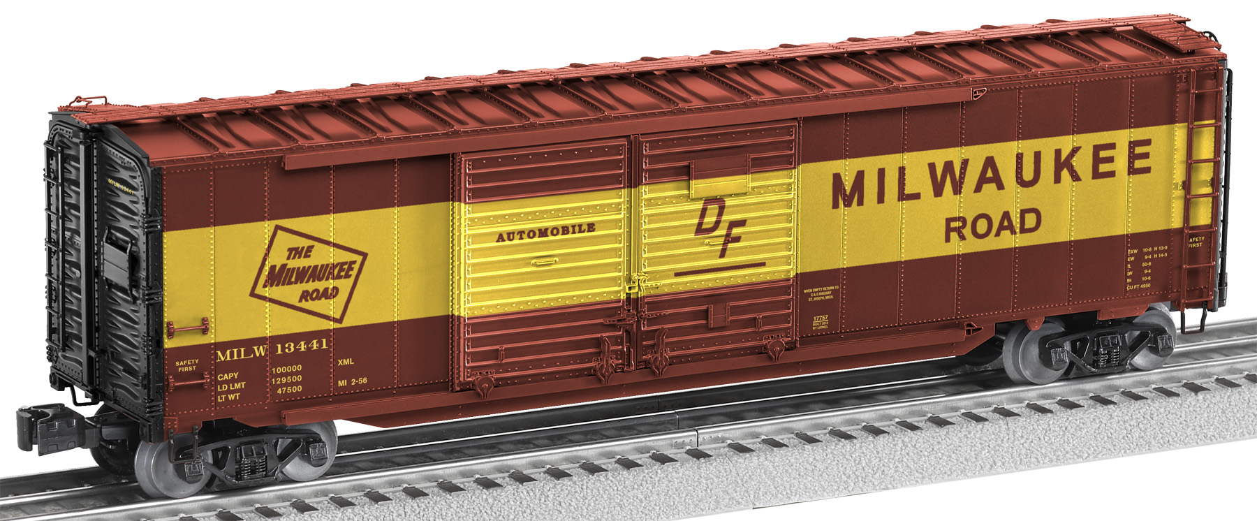 freight car friday end door boxcars lionel trains. Black Bedroom Furniture Sets. Home Design Ideas
