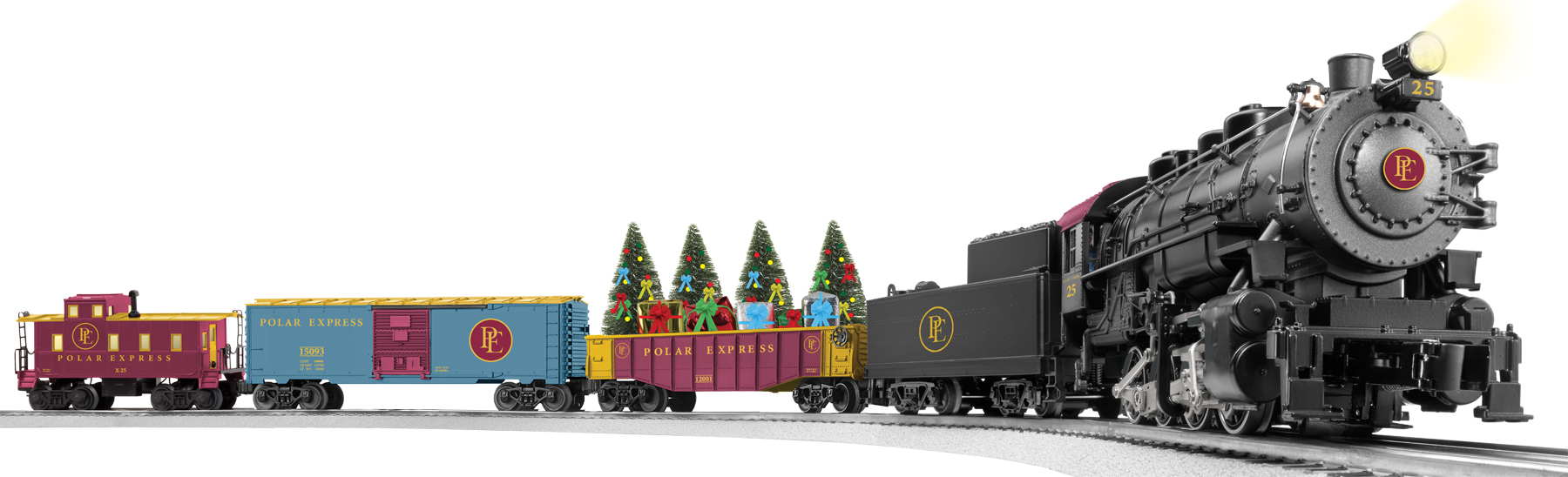 The Polar Express freight set will add variety and excitement to your ...
