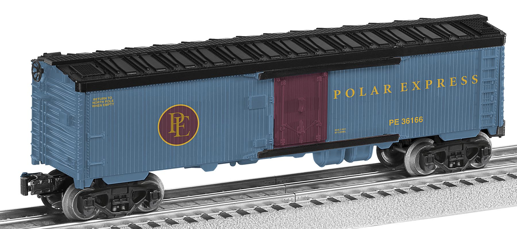 Polar express lionel trains