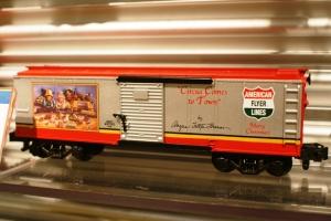 AF Christmas boxcar