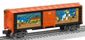 Peanuts Boxcar