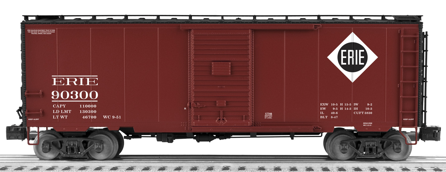 Freight Car Friday Erie Cars Lionel Trains