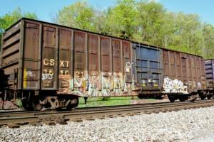 CSX boxcar