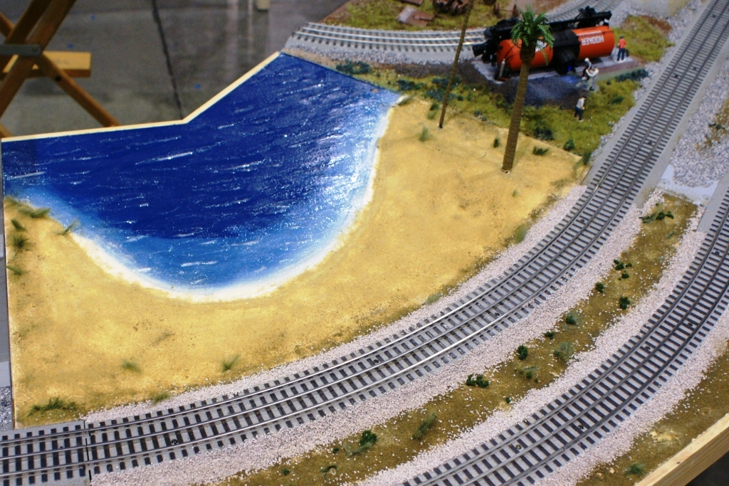 Modeling Sand and Surf