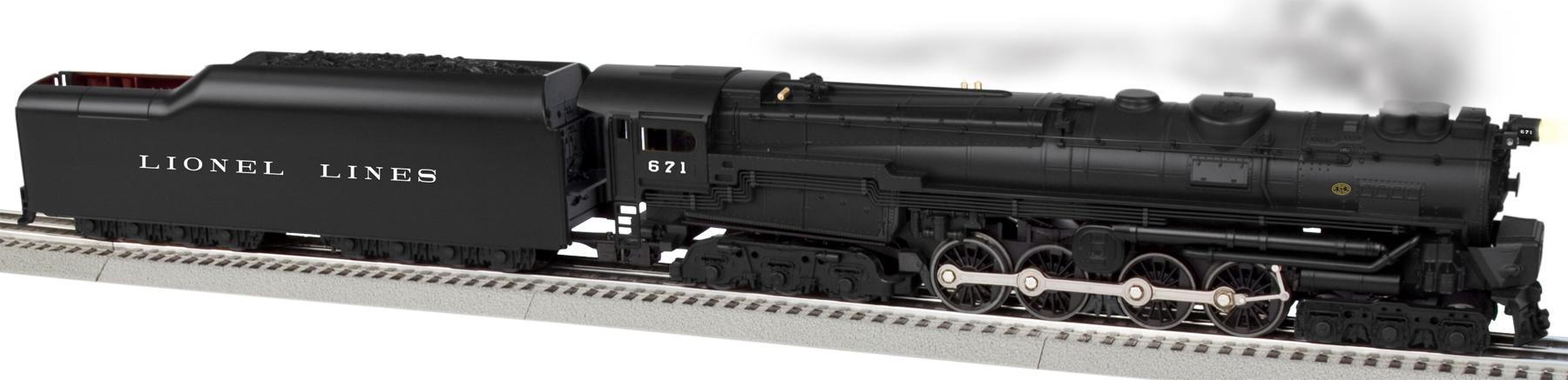 O scale – Lionel Train 671 Wiring-diagram
