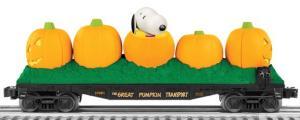 pumpkin flatcar