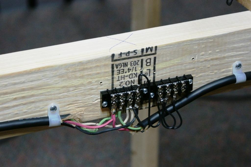 Building a Train Platform Basic Benchwork – Lionel Track Wiring Lights On