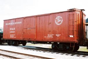 D&H boxcar