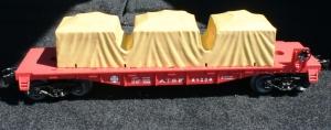 Santa Fe flatcar